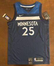 Nike NBA Minnesota Timberwolves Derrick Rose Basketball Jersey