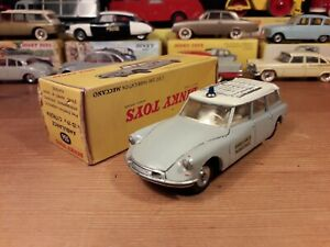 Véritable Dinky Toys Meccano ID 19 Ambulance excellent état + boîte d'origine