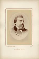 Ant. Meyer, Photog. Colmar, Auguste Nefftzer (1820-1876), journaliste français V