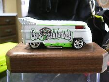 Hot Wheels Custom Gas Monkey Garage VW DRAG BUS W/ REAL RIDERS