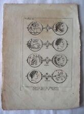 ANCIENNE PLANCHE / PIECES GRECQUE BRONZE OR ARGENT / PHILIPPES