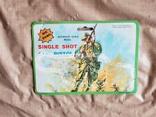 Vintage 1950s Big Bang Single Shot Pistol Army Figure Bag Card