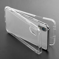 360° Dustproof Rubber Clear Case Cover For Apple Phone 6 6s 7 8 Plus 5 5s XS MAX