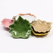 1 x Miniature Fairy Leaf Plate Offering Dish