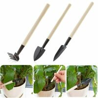 Home Gardening Tool Set Mini Digging Suits Three-piece Shovel Rake
