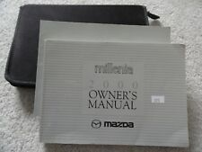 2000 Mazda Millenia Owners Manual