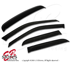 In-Channel 2.0mm Rain Guards Visor Sun roof Deflector 5pc Ford Contour 1995-2000