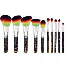10pc Leopard print pattern Makeup Brushes Powder Foundation Eyeshadow Brush Tool