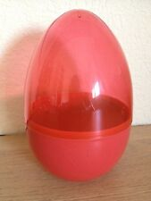 DISNEY PIXAR CARS 2 - Oeuf Plastique Rouge - Emballage Crayon Couleur Collection