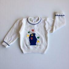 VTG Cookie Monster Sesame Street Sweater size 1.5  toddler girl