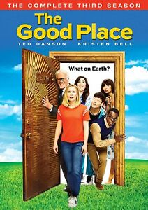 The Good Place: Season Three New! Sealed! Kristen Bell & Ted Danson!