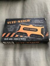 TUFF-WEIGH Digital Mini Scale 100g x 0.01g Black / Orange