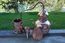 Complete 10 L Soldered Premium Copper Distilling Kit