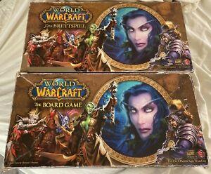 World of Warcraft Brettspiel (deutsch) +The Board Game (englisch) 2x das Spiel!