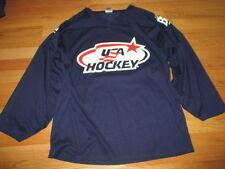 Vintage USA HOCKEY Labatt Blue Canadian Pilsener (LARGE) Hockey Jersey OLYMPICS
