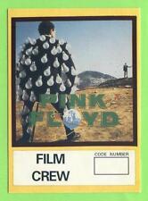 Pink Floyd - Karton-Pass Rot - Film Crew - altes Sammlerstück - Kein Aufkleber