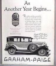 Graham-Paige PRINT AD - 1929 ~~ car, automobile, auto, motorcar
