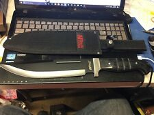 "Mtech USA 16"" 4MM Pakkawood Handle Knife w/ Sheath  MT-20-08S *NEW*"