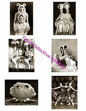The Dolly Sisters #1 - Photo Collage for Scrapbooking / Crafts / ATCs / ACEOs