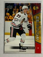2019-20 KIRBY DACH Upper Deck NHL ROOKIE SET Card #6 - Chicago Blackhawks