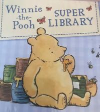 WINNIE THE POOH SUPER LIBRARY ~ 6 Books Set For Young Child