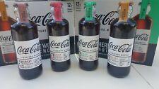 Lot de 4 Bouteilles Coca Cola Signature Mixers