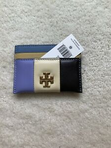 NEW WITH TAGS BEAUTIFUL TORY BURCH KIRA PATCHWORK CARD CASE HOLDER