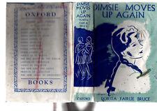 DORITA FAIRLIE BRUCE - DIMSIE MOVES UP AGAIN    1940 EDITION