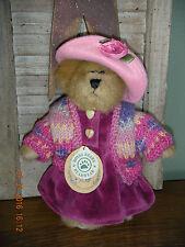 "Boyds Bears Plush (1995) ~ 8"" Bailey (Hooker) ~ Qvc Bear Style #9199"