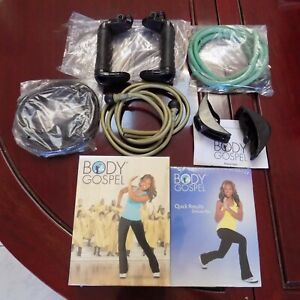 NEW BeachBody Body Gospel Workout 6 DVD Set and Workout Kit with Instructions