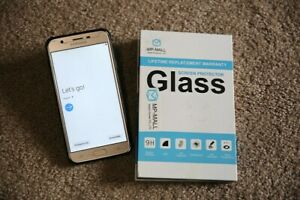 Samsung Galaxy J7 SM-J727P32 GB SilverSmartphone - Ex