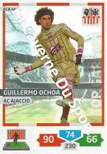 ACA-TG1 G.OCHOA  TOP GARDIEN MEXICO AC.AJACCIO CARD ADRENALYN FOOT 2014 PANINI