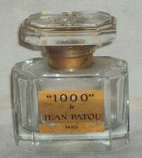 New listing 1980's Rare Vintage Original Old Jean Patou 1000 Eau de Parfume Bottle Paris