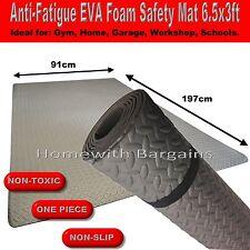 Large Anti-Fatigue EVA Foam Floor Safety One Piece Mat. Gym Garage Home Work NEW