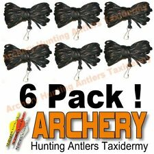 6 Pack Archery Treestand Hunter 20 foot Camo Bow Gear Pull Up Ropes Hoist Gear