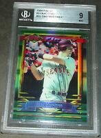 1994 TINO MARTINEZ TOPPS FINEST REFRACTOR #55  BGS 9 MINT POP 1/1