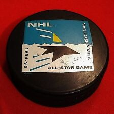 San Jose Sharks 1995 - All Star Game Puck - Officially Licensed NHL Product