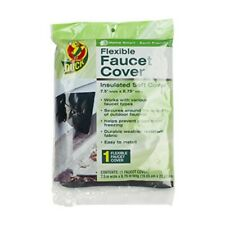 Duck Brand Insulated Soft Flexible Faucet Cover for Freeze Protection, 7.5 by 8
