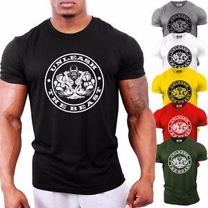 Unleash the Beast Gorilla Ape | Bodybuilding T-Shirt | Gym Top Clothing GYMTIER