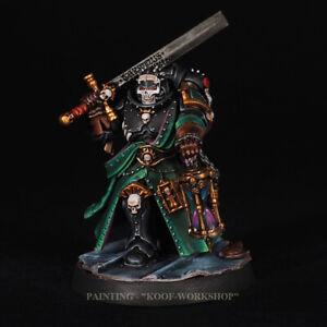 Warhammer 40k Painted Indomitus Dark Angels Judiciar, new 9th edition