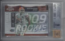 PERCY HARVIN 2009 PLAYOFF CONTENDERS COLLEGE TICKET SP AUTO RC /55 BGS 9 w 10 AU