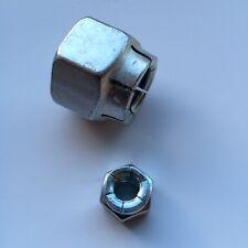 Assorted M6 - M16 all metal Flexloc Self Locking Nut Kit 125 Pieces