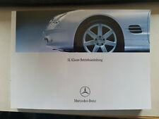 Bedienungsanleitung Mercedes Benz  R230 SL 350 500 55 AMG 600 NEU