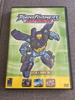 TRANSFORMERS ARMADA VOL 2 - 1 DVD PAL 2 - 5 EPISODIOS - 85 MIN - EN BUEN ESTADO
