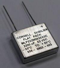 CORNELL DUBILIER Military grade  Capacitors 2200UF 63V MLP222M063EK0C