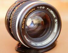CHINON .35mm f2.8 WIDE ANGLE Lens  M42 SCREW MOUNT