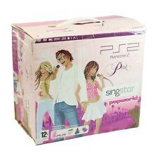 PS2 Konsole Slim SCPH-7700x #pink + SingStar Pop Hits + 2 orig Pad + Zub mit OVP