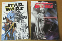 Star Wars Coloring Book Lot + Darth Vader Scott Campbell Art Book Sketchbook