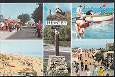 Norfolk Postcard - Views of Hemsby   DR3