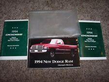 1994 Dodge Ram Truck Owner Operator Manual Work Special LT 3.9L 5.2L 5.9L V6 V8